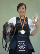 Vizemeisterin im Naginata bei der 10. Deutsche Meisterschaft 2013